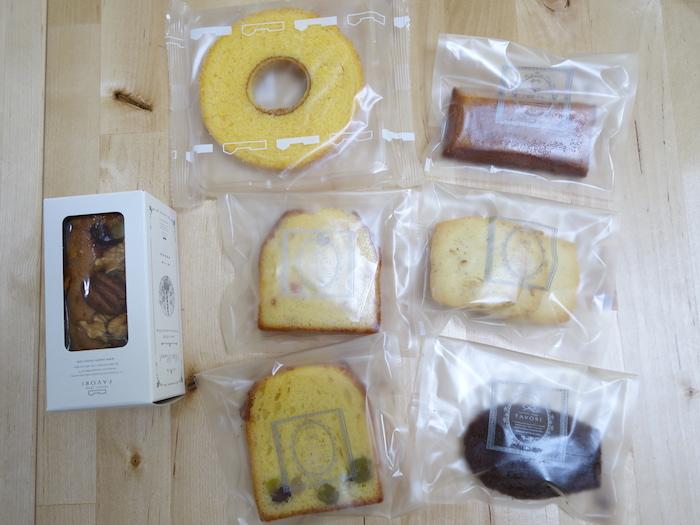 アイ・ケイ・ケイの株主優待で届いた洋菓子