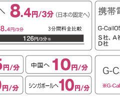 IP電話サービスのG-Call050を利用すると通話料が050plusよりも安くなる件