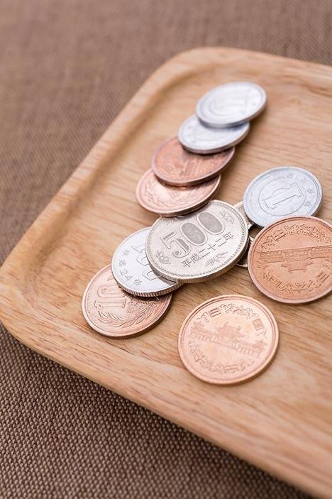 小銭をATMから引き出す方法