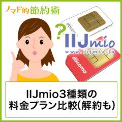 格安SIMの決定版!IIJmio(みおふぉん)の料金プラン比較・速度の評判・使い方の注意点