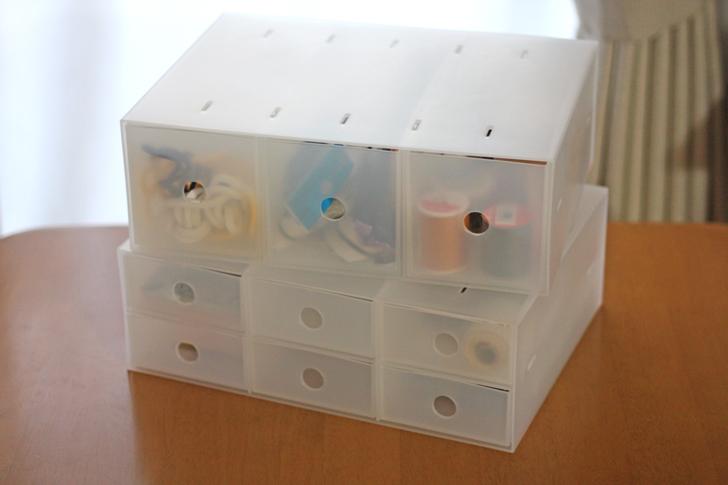 《コスメ収納》無印・IKEAに負けない小物収納ボックスシリーズが100均にあるらしい