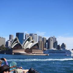 シドニーのフェリーチケットの買い方と乗船方法・乗ってみた感想