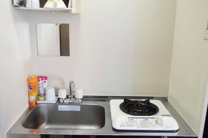 掃除したキッチン