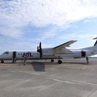JALの小型飛行機