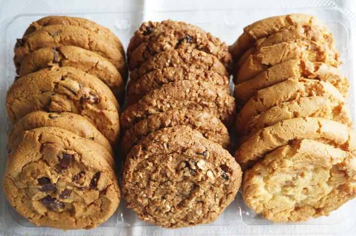 コストコのバラエティクッキー(クッキーの種類)