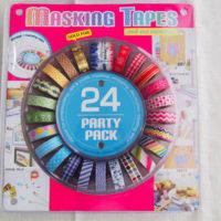 コストコ「POINT&LINE マスキングテープ」の値段や楽しい使い方まとめ。身近なモノがかわいくなる!